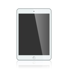 White apple ipad 2 mini or air vector image