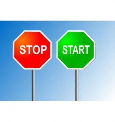Stop and start vector