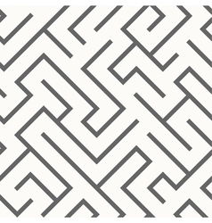 Seamless labyrinth pattern vector