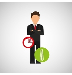 Businesspeople avatar design vector
