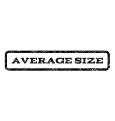 Average size watermark stamp vector