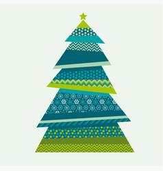 Christmas textile vector