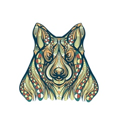 ethnic dog vector image vector image