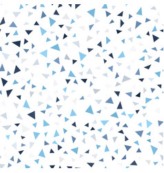 Mosaic triangle pattern seamless geometric vector