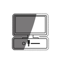 Pc computer technology vector