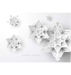 Islamic geometric art design background vector