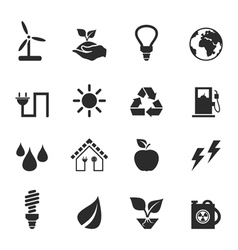 Icon ecology2 vector image