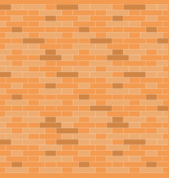 brown brick wall background - vector image