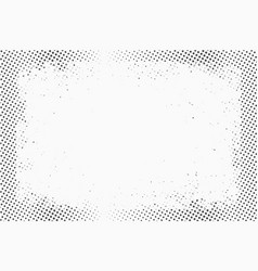 halftone dots monochrome texture background for vector image vector image
