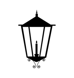 street lamp icon image vector image