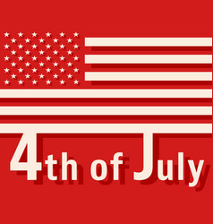 4th of july - usa independence day vector