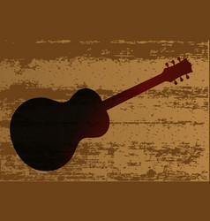 Guitar brand vector