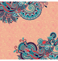 Floral pattern with place for your greetings vector