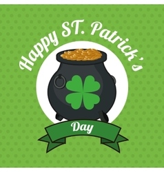 St patricks day design vector