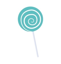 Sugar food design candy icon sweet vector
