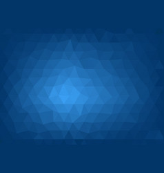 abstract blue polygonal background vector image vector image