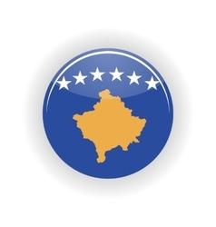 Kosovo icon circle vector