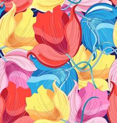 Seamless graphic pattern of colorful vector image