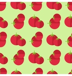 tomatoes seamless pattern vector image