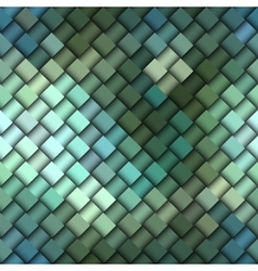 Green pattern of squares vector