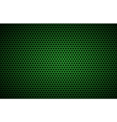 Geometric polygons background abstract green vector image