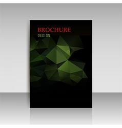 Abstract modern cover report brochure flyer vector