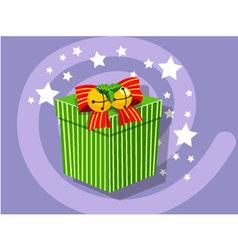 Gift icon christmas vector