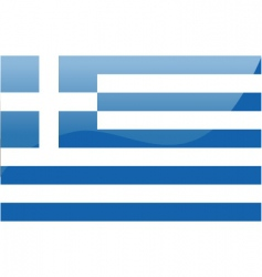 Greece flag vector image vector image