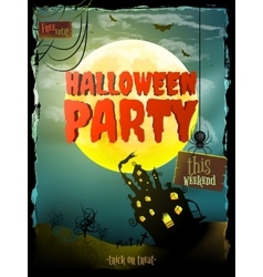 Halloween Background EPS 10 vector image vector image