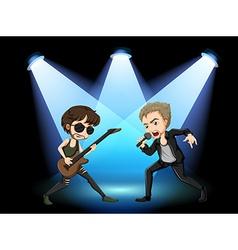 Rock stars vector image