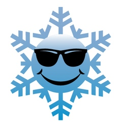 Coolsnowflake vector