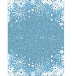 Snowflake poster vector