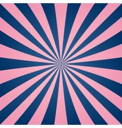 Pink blue ray burst background vector