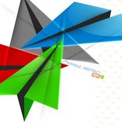 Triangle shape vector