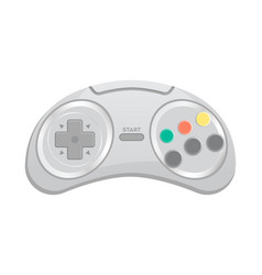 Control console for computer game icon vector