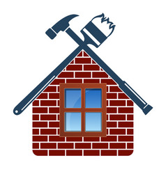 Repair and maintenance of house vector