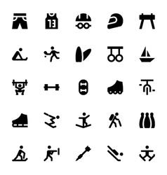 Sports and games icons 4 vector