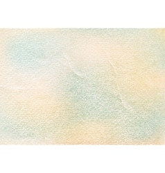 Watercolor paper vintage texture with scratches vector image