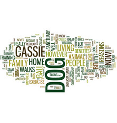 Give a dog a home text background word cloud vector