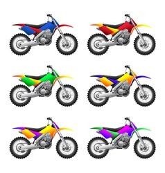 Sport motorbikes vector