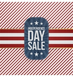 Independence day sale special badge vector