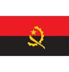 Angola flag image vector image vector image