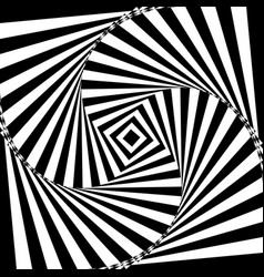black and white geometric vector image vector image