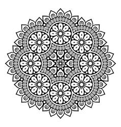 Indian mandala vector