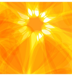Sun abstract background vector