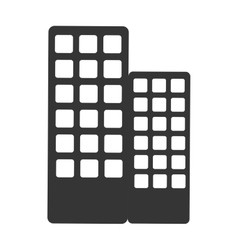 Building architecture icon isolated vector