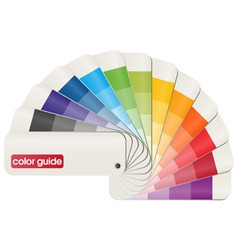 Color guide vector