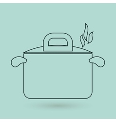 Kitchen icon design vector