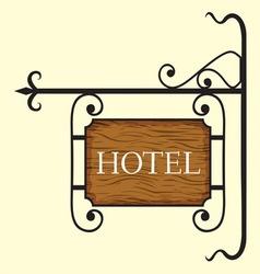Hotel5 vector image