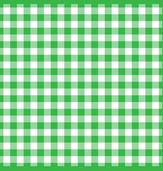 Lumberjack plaid pattern in green and black vector